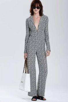 Vintage Chanel Moselle Silk Jumpsuit