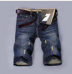 Find More Jeans Information about 2014 Hot Fashion Designer Shorts Jeans Men Famous Brand High Quality Cotton Denim Dark Blue Short Bermuda Jeans Masculina 38,High Quality jean coat,China shorts running Suppliers, Cheap jean shorts women from Amazing Excellent on Aliexpress.com