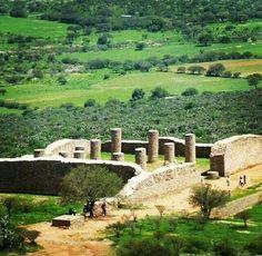 Ruinas de Chicomostoc Zacatecas.