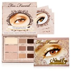 Natural Eye Palette Beautiful nude eyes palette.