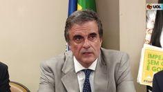 """Galdino Saquarema 1ª Página: No começo da sua fala, Cardozo disse que não há processo de impedimento sem """"situação de gravidade extrema""""."""