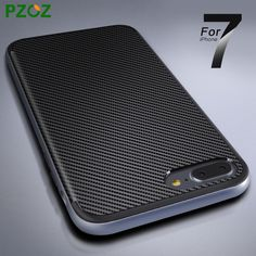 PZOZ For iphone 7 Plus Case Luxury Original Silicone Covers Shockproof Phone Shell For iphone 7 Case 4.7 & 5.5 ipone i7