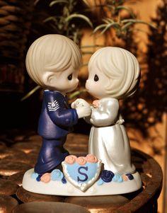 Custom Handpainted Military Cake Topper Precious by JolieGood, $175.00