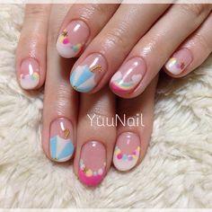 .@yuka_story   #yuunail #nail #ネイル