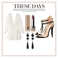 """""""Untitled #12"""" by vickeca on Polyvore featuring Charlotte Russe, Rebecca Minkoff, Marc Jacobs and Givenchy"""