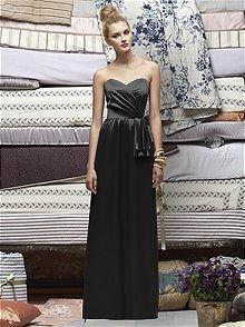 Lela Rose LR173 #black #bridesmaid #dress