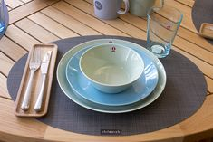 Weekly Table Setting: iittala Teema — Didriks iittala Teema Dinnerware in our Weekly Table Setting Setting Table, Table Settings, Cutlery Holder, Scandinavian Home, Interior Inspiration, Dinnerware, Plates, Dining, Blessing