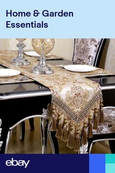 European Luxury Modern Minimalist Table Runner Tablecloth Embroidered Table Runners Table Flag Dinner Mats Home Textile. How to choose table runner:. Dinning tablelength of down about on each side. Cheap Table Runners, Table Flag, Minimalist Home Decor, Modern Minimalist, Dinning Table, Table Linens, Table Decorations, Design, Modern Luxury
