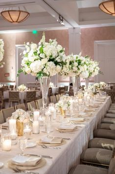 Dallas Wedding and Event Planner | Hitched Events | Hitched Events, LLC - Dallas Wedding Planner | Dallas Event Planner - Part 2 Head Table Wedding Decorations, Head Table Decor, Head Tables, Wedding Table, Marquee Events, Dallas Wedding Venues, White Wedding Flowers, Wedding Weekend, Happy Anniversary