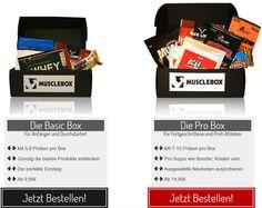 Basic und Profi Supplement Box