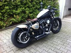 this is perfect, just need to change the exhaust, clutch cover, tilt the handle-bars, white wall tires, & duel headlamps
