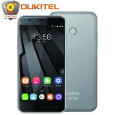 "Original Oukitel U7 Plus 4G LTE Mobile Phone 5.5""Android 6.0 MTK6737 Quad Core 2GB RAM 16GB ROM 8.0MP Fingerprint ID smartphone //Price: $US $80.99 & FREE Shipping //     #smartphones"
