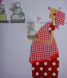 Maria pé na cozinha by mariacininha, via Flickr