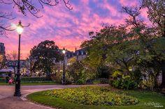"""The """"place Gambetta"""" // #Bordeaux #BDXLive #Sunset"""