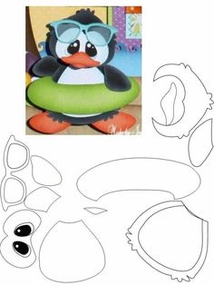Penguin (fabric), but great polymer idea