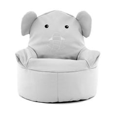 Kids Elephant Bean Bag Chair | Dunelm