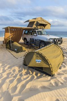 my favoruite lists Off Road Camping, Truck Camping, Camping Life, Vw Amarok, Top Tents, Roof Top Tent, Jeep 4x4, Outdoor Camping, Outdoor Gear