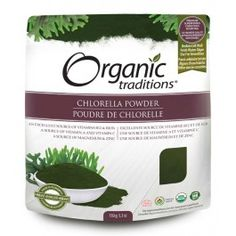 Organic Traditions Chlorella Powder | Vitasave.ca