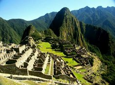 Machu Picchu, Peru. One of the most incredible places I've been to.