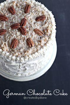 German Chocolate Cake @createdbydiane