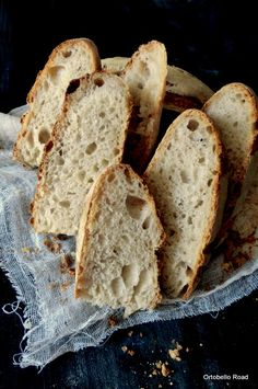Pan di Pane: Ricetta  PanFocaccia, impasto a mano.