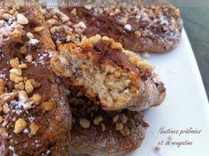 Nustines prâlinées et sa nougatine | Cuisine de Gut