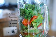 Avocado Habanero Hot Sauce