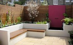 When it comes to getting ideas for small backyard landscaping, you need to understand that you need not congest your small backyard just Back Garden Design, Garden Design Plans, Backyard Garden Design, Garden Landscape Design, Patio Design, Backyard Patio, Back Garden Ideas, Backyard Ponds, Terrace Garden