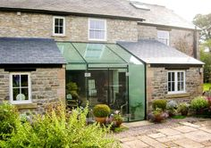 Conservatory, Orangery, Garden Room, the perfect complement to your home Glass Roof Extension, Extension Veranda, Cottage Extension, Building Extension, Extension Ideas, Extension Google, Garden Room Extensions, House Extensions, Glass Porch