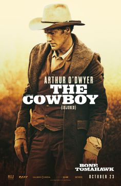 Bone Tomahawk (2015) - Patrick Wilson as Arthur O'Dwyer