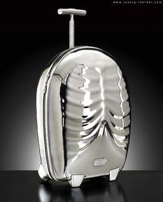 Alexander McQueen's Samsonite Black Label Luggage