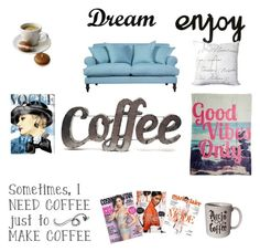 Designer Clothes, Shoes & Bags for Women Need Coffee, Lazy Days, Polyvore, How To Make, Stuff To Buy, Design, Women, Art, Art Background