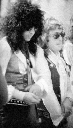 Paul Stanley & Peter Criss (1970's)