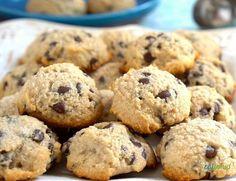 Sweet Recipes, Real Food Recipes, Keto Recipes, Dessert Recipes, Gluten Free Cookies, Gluten Free Desserts, Comida Keto, Coconut Flour Recipes, Soft Chocolate Chip Cookies