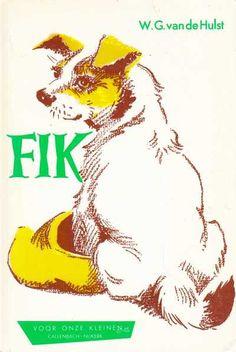 """W.G. van de Hulst - 1 - Fik (23ste druk) Vroeger werden honden vaak """"Fikkie"""" genoemd. Ik vraag me af waar dat vandaan kwam..... Volgens het woordenboek waren dit (meestal) honden van het 'vuilnisbakkenras'...."""