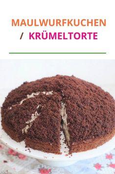 MAULWURFKUCHEN  KRÜMELTORTE Ein einfaches und schnelles Rezept für veganen Maulwurfkuchen. Der Maulwurfkuchen ist einer der Kuchen, die Sie das ganze Jahr über genießen können. Es ist extrem einfach zuzubereiten, erfordert nicht viel Geschick, schmeckt aber super lecker! #ofenliebe #affektblog #Maulwurfkuchen #lecker #Krümeltorte Dessert, Foodblogger, Fabulous Foods, Plant Based, Muffins, Cupcakes, Sweets, Ethnic Recipes, Inspiration