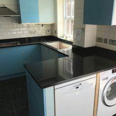 Nero Stella - Watford, Herts - Rock and Co Granite Ltd Watford, Granite, Kitchen Cabinets, Design, Home Decor, Decoration Home, Room Decor, Granite Counters, Cabinets