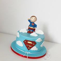 Superman cake, Torte, Superheld, Held, Boys cake, caketopper, Fondant
