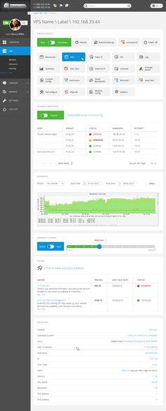 HostZealot - SAAS for Hosting Company on Behance