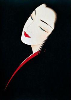 Kai Fine Art is an art website, shows painting and illustration works all over the world. Japanese Art Modern, Girl Face Drawing, Geisha Art, Art Japonais, Foto Art, Portrait Illustration, Japan Art, Art Deco Design, Silk Painting