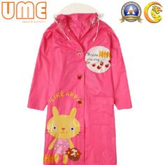 Customize Cheap Fashion Printed PVC Children Raincoat   #Kids #PVC #Raincoat #Rain #Jacket #boys #girls #RainJacket #PVCcoating #coating #fashionjacket #fashion #fshioncoating #beautyclothing #beautyproducts #cute #loving  #Bunny  #rabbit #apple #pinkraincoat #Cartoonlogo #Cartoon #pink