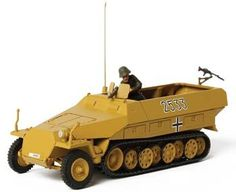 UNX85079 - 1/72 Forces of Valor German Sd.Kfz 251/1 Hanomag. 1/72 Forces of Valor German Sd.Kfz 251/1 Hanomag