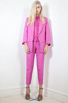 Salasai Pretty In Pink, Duster Coat, Chic, Jackets, Design, Fashion, Shabby Chic, Down Jackets, Moda