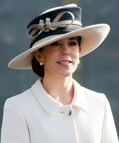 royal hats - Princess Mary of Denmark
