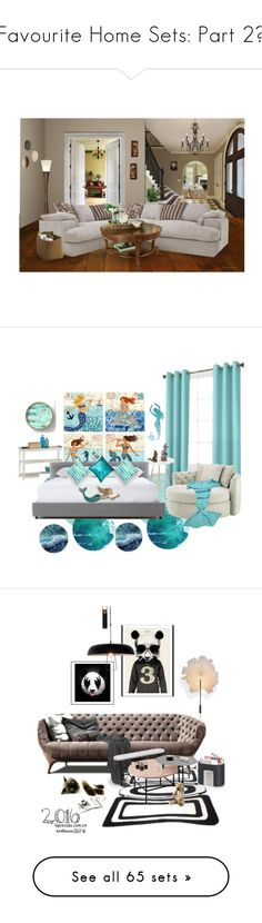 """""""Favourite Home Sets: Part 2💚"""" by moon-and-starss ❤ liked on Polyvore featuring interior, interiors, interior design, home, home decor, interior decorating, Possini Euro Design, Threshold, Burton and Home"""