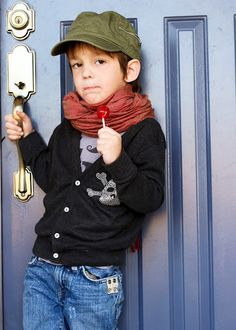 Boy outfit.. scarf, sweater, hat..  Coming soon to a Gummy near you.