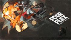 #FOURPLEX #SHAVRIN #LOBDELL #comic, Ivan Shavrin on ArtStation at https://www.artstation.com/artwork/6RyQ5