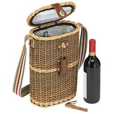 Avanti - Twin Wine Basket