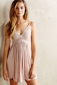 Anthropologie EBERJEY COLETTE CHEMISE #anthrofave