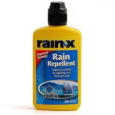 After cleaning all the gunky soap scum off your shower doors/tile, apply the Rain-X and voila !! It repels the water & soap scum ! Reapply every 4mos or so.    Read this in a comment on Life Crafts & Whatever blog :)